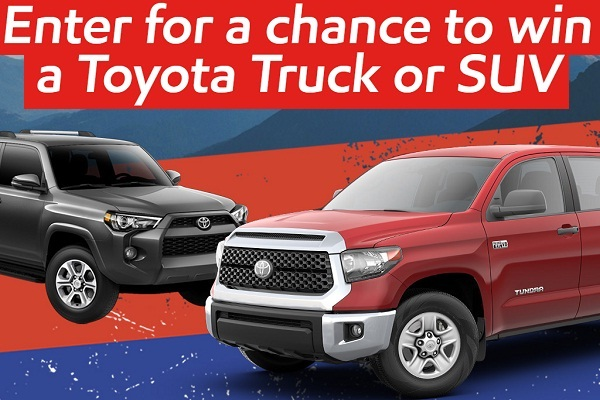 O'Reilly Toyota Truck Giveaway