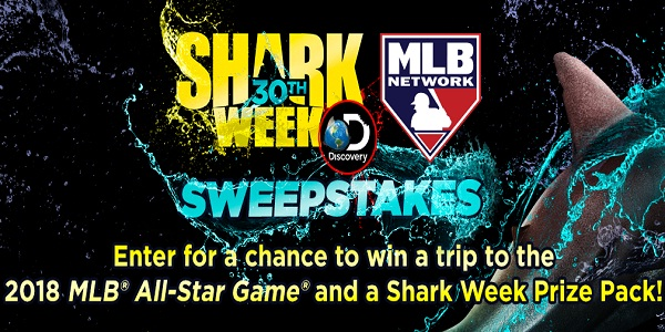 Discovery.com Shark Week + MLB Network Sweepstakes