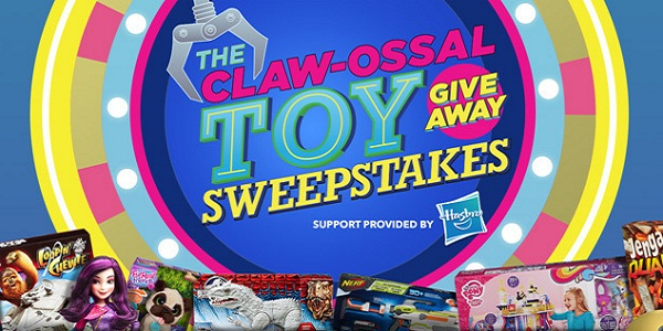 Claw-ossal Toy Giveaway Sweepstakes