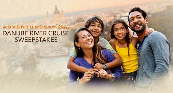 Disney Danube River Cruise Sweepstakes