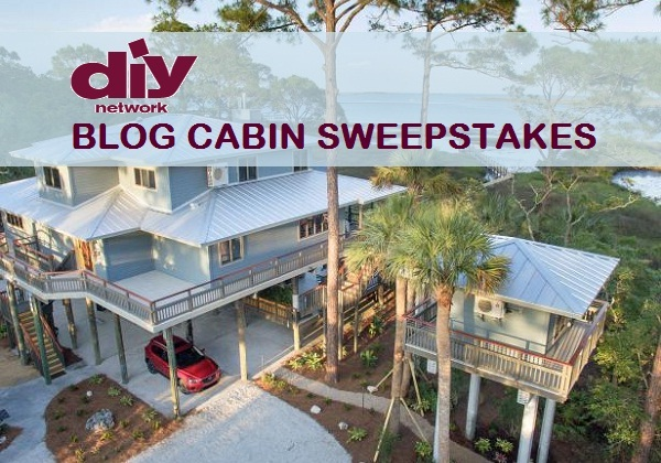 Blog cabin sweepstakes