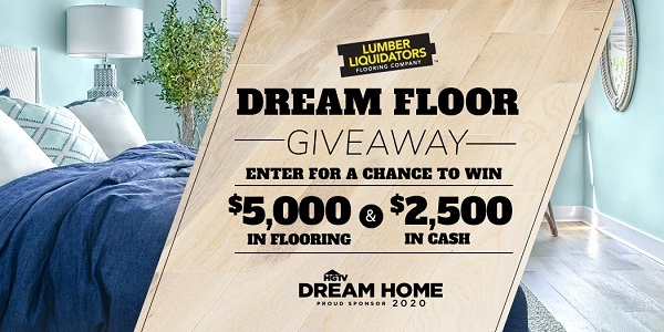 diy network dream floor giveaway win 5000 in flooring