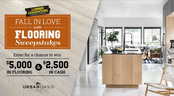 Diynetwork.com Fall Flooring Sweepstakes