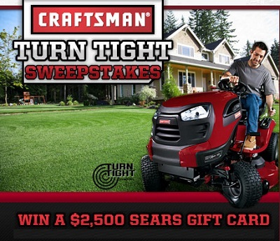 DIY's Turn Tight Sweepstakes