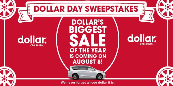 National Dollar Day Sweepstakes