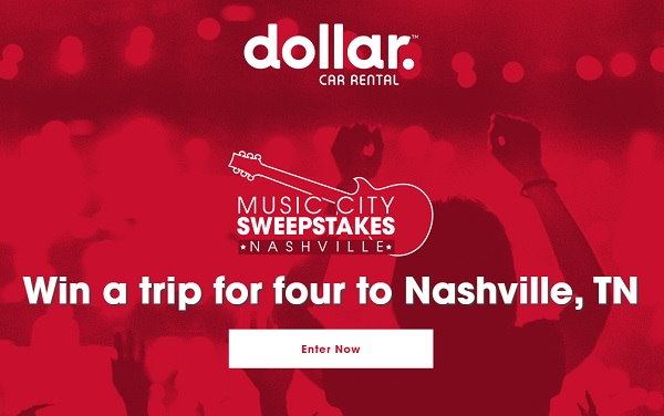 Dollar Music City Sweepstakes