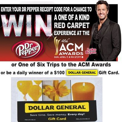Win a Trip to ACM 2013 with Dr Pepper