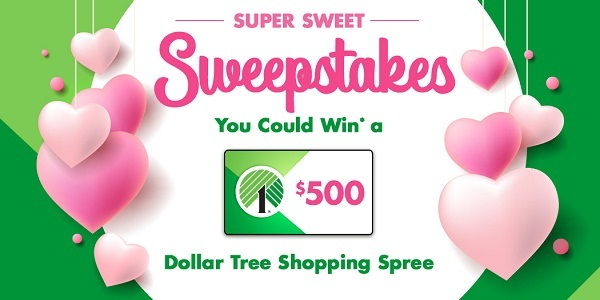 Dollartree.com Super Sweet Sweepstakes