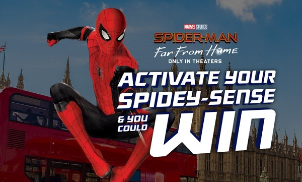 DORITOS Spider-Man Far From Home IWG and Sweepstakes