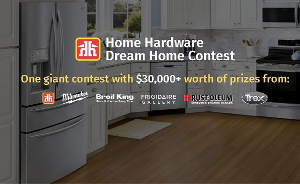 Home Hardware Dream Home Contest on Dreamcontests.ca