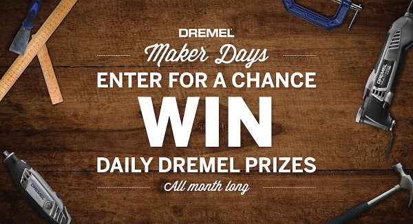 The Dremel Maker Days Sweepstakes