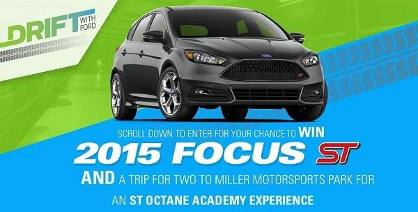 Drift with Ford Sweepstakes on driftwithford.com