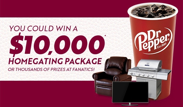 Dr Pepper Sweepstakes 2019