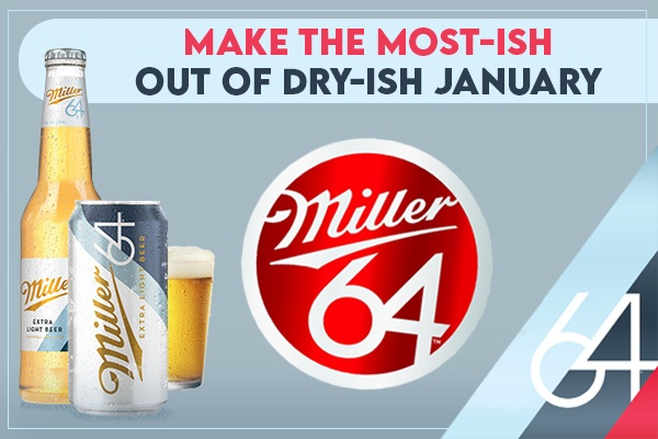 Miller64 Dry-ish January Instant Win Game (200 Winners)
