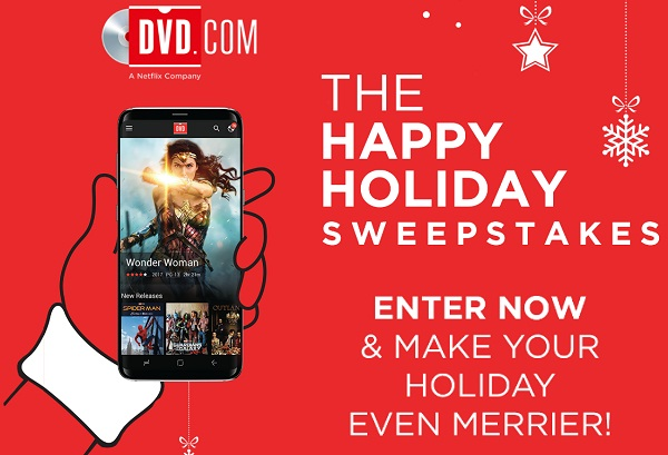 Happy holiday sweepstakes