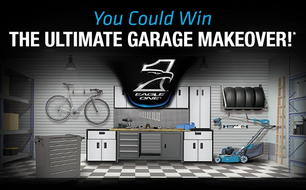 Eagle One Win $25000 Ultimate Garage Makeover Sweepstakes ...