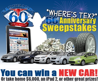 Earnhardt 60th Anniversary Sweepstakes