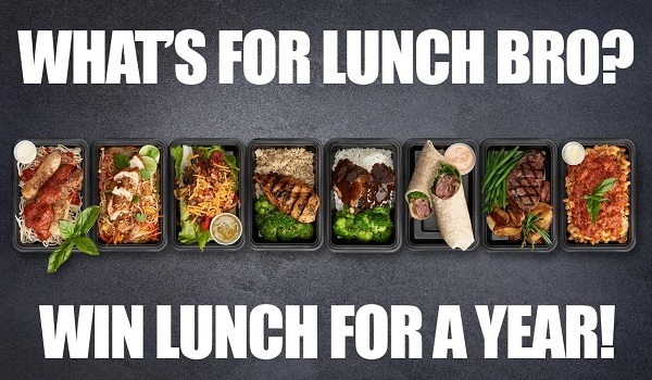 Eat Clean Bro Free Lunch For A Year Giveaway