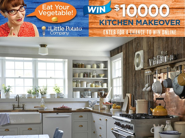 Charmant As Now, The Little Potato Company Is Sponsoring Eat Your Vegetable  Sweepstakes To Win You $10000 Kitchen Makeover.