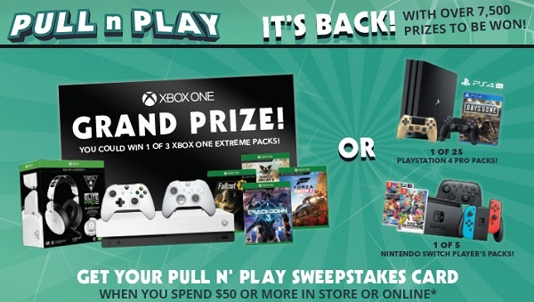 Ebgames.ca Pull n Play Contest 2019