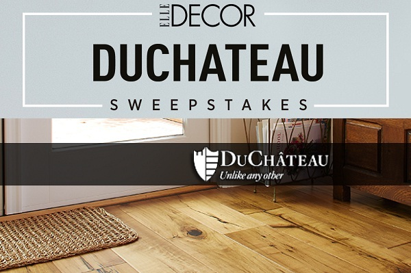 Elle Decor Duchateau Flooring Sweepstakes 2019