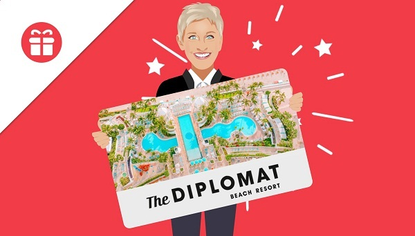 Ellen Sweepstakes: Win A Stay At The Diplomat Beach Resort