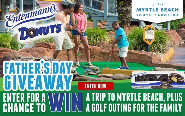 Entenmanns.com Father's Day Visit Myrtle Beach Giveaway
