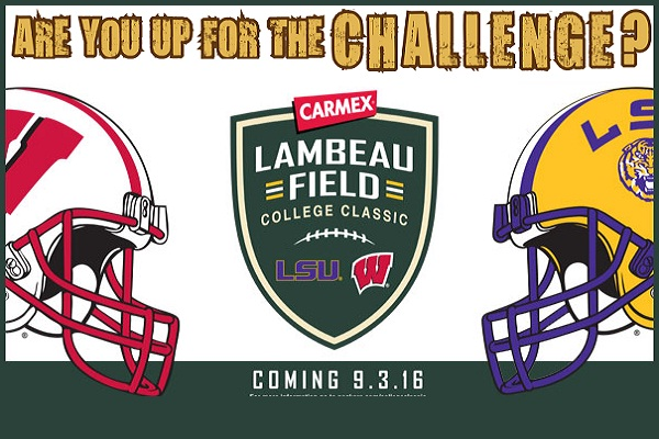 Carmex Lambeau Field College Classic $100,000 Football Relay Challenge