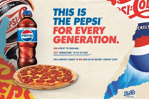 Pepsi Brand Integration Sweepstakes: Win Live Nation Concert Cash Code