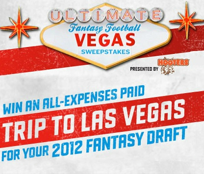 Ultimate Fantasy Football Vegas Sweepstakes