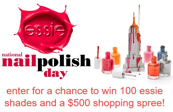 Essie National Nail Polish Day Sweepstakes