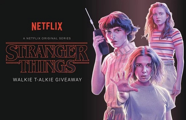 EW Stranger Things Sweepstakes