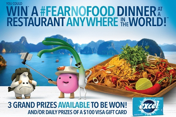 Excel Fear No Food Contest 2019: Win Over $45,000 in Prizes