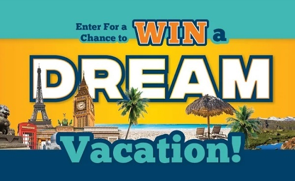 Dream Vacation Sweepstakes: Win $10000 Cash!