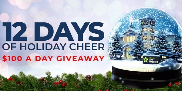 Extendedstayamerica.com 25 Days of Holiday Cheer Giveaway