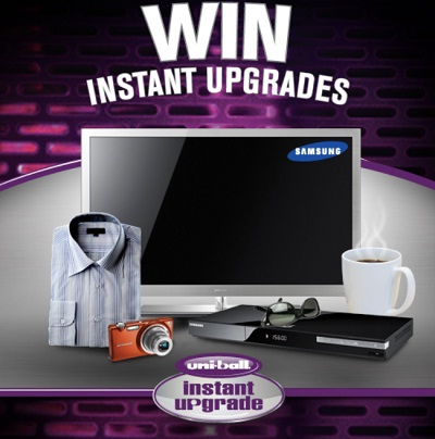 Uniball Instant Upgrade : Win prizes worth $7222