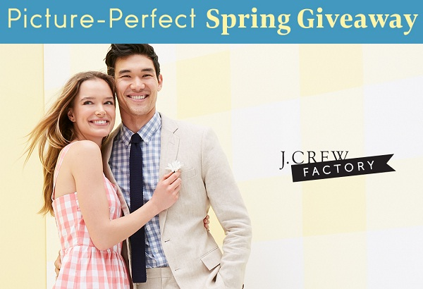 J.Crew Factory Picture-Perfect Spring Giveaway!