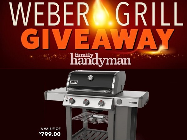 Weber Grill Giveaway 2019