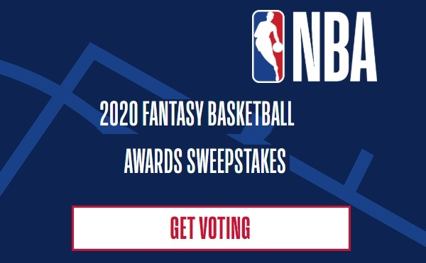 NBA Fantasy Awards Sweepstakes 2020: Win Over $8,000 in Prizes
