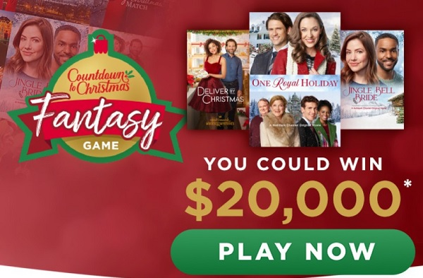 HallmarkChannel.com Christmas Fantasy Game Sweepstakes 2020