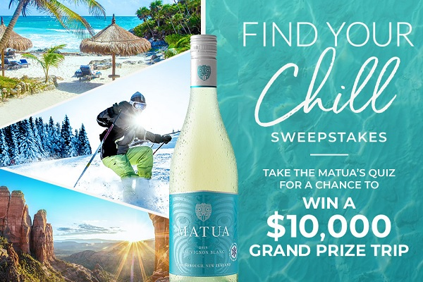 Find Your Chill Sweepstakes: Win Summer Vacation!