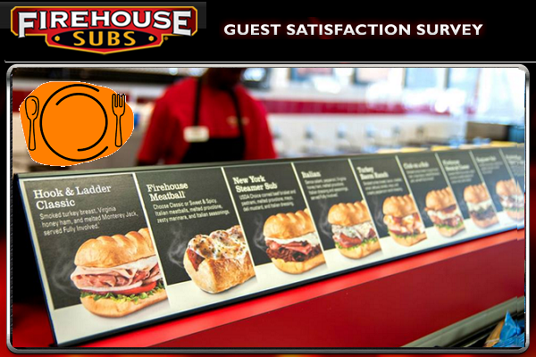 Firehouse Subs Listens Guest Satisfaction Survey Sweepstakes