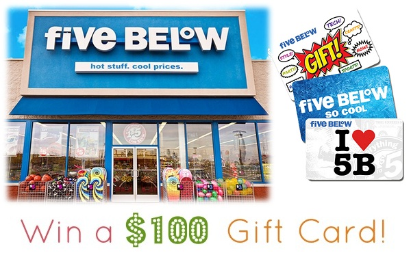 Five Below Survey Sweepstakes: Monthly Win $100 Gift Card