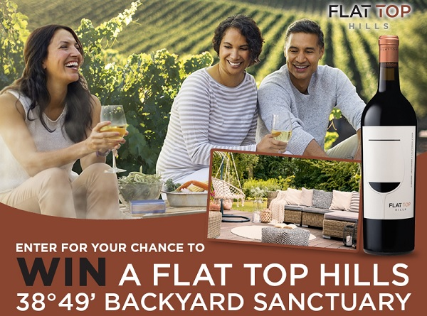 Flat Top Hills Backyard Sanctuary Sweepstakes