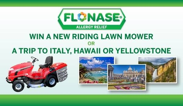 2015 Flonase Sweepstakes