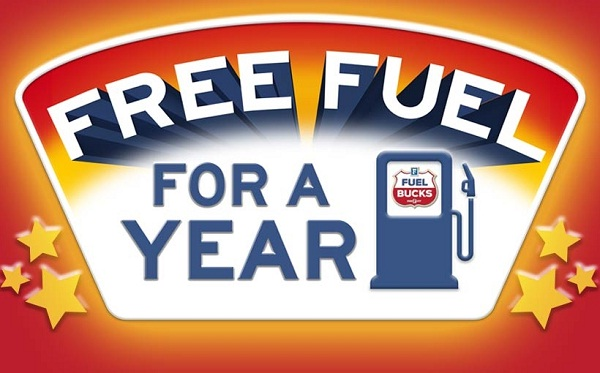 Win Free Fuel for a Year Sweepstakes
