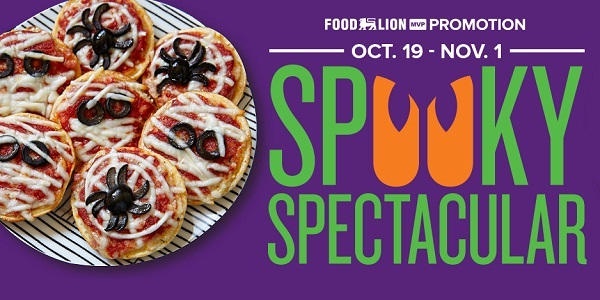 Food Lion Spooky Spectacular Instant Win game