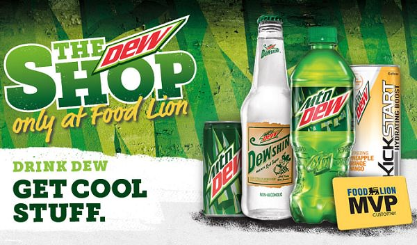 The Dew shop 2016 Daily Sweepstakes