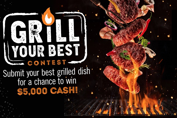 Foodnetwork.com Grill Your Best Contest: Win $5k Cash