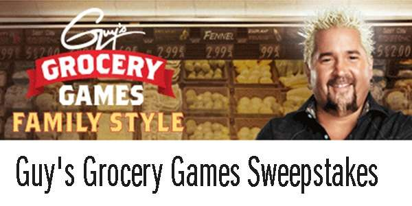 Food Network Guy's Grocery Games Sweepstakes